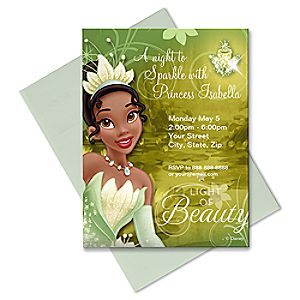 Tiana Invitation - Create Your Own