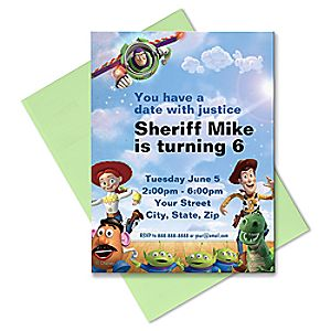 Toy Story Invitation - Create Your Own