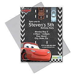 Cars Invitation - Customizable