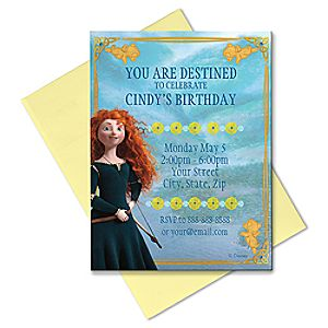 Brave Invitation - Create Your Own
