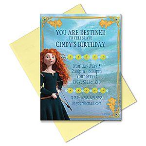 Brave Invitation - Customizable