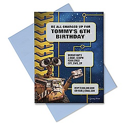 WALL-E Invitation - Customizable