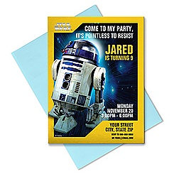 R2-D2 Invitation - Customizable