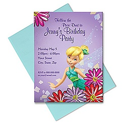 Tinker Bell Invitation - Customizable