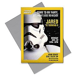 Star Wars Stormtrooper Invitation - Customizable