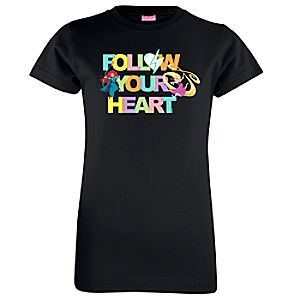 Disney Princess Follow Your Heart Tee for Girls