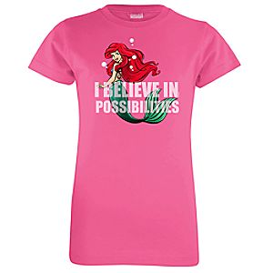 Ariel Possibilities Tee for Girls
