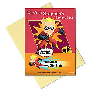 The Incredibles Invitation - Customizable