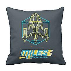 Miles from Tomorrowland Stellosphere Throw Pillow - Customizable