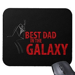 Star Wars ''Best Dad in the Galaxy'' Mouse Pad - Customizable