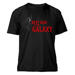 Star Wars Best Dad in the Galaxy Tee for Men - Customizable