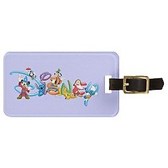 Disney Logo Luggage Tag - Customizable