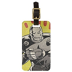 Iron Man Luggage Tag - Customizable