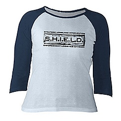 Agents of S.H.I.E.L.D. Long Sleeve Raglan Tee for Women - Customizable
