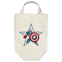 Captain America Reusable Canvas Bag - Customizable