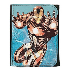Iron Man Leather Wallet for Kids - Customizable