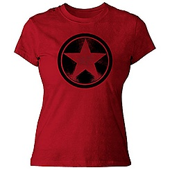 Captain America Tee for Women - Customizable