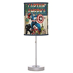 Captain America Lamp - Customizable