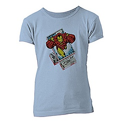 Iron Man Tee for Girls - Customizable
