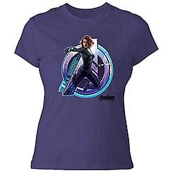 Black Widow Tee for Women - Marvel's Avengers: Age of Ultron - Customizable