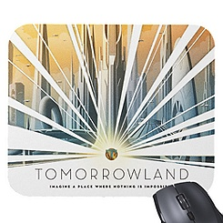 Tomorrowland Mouse Pad - Customizable