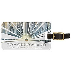 Tomorrowland Luggage Tag - Customizable