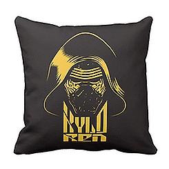 Kylo Ren Pillow - Star Wars: The Force Awakens - Customizable