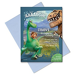 The Good Dinosaur Invitation - Customizable
