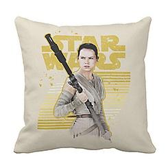 Rey Pillow - Star Wars: The Force Awakens - Customizable