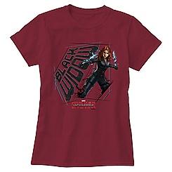 Black Widow Tee for Women: Captain America: Civil War - Customizable