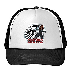 Black Widow Trucker Hat: Captain America: Civil War - Customizable