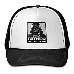 Darth Vader Father of the Year Trucker Hat - Star Wars - Customizable