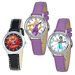 Time Teacher Watch with Leather Strap for Kids - Create Your Own