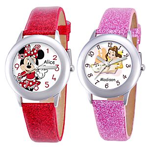 Glitter and Gem Watch for Kids - Customizable