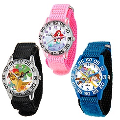 Time Teacher Watch with Nylon Strap for Kids - Large Dial - Customizable