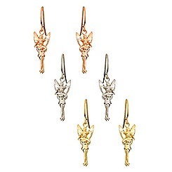 Tinker Bell Diamond Earrings - 14K