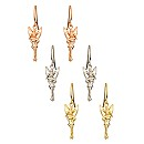Tinker Bell Diamond Earrings - 14K