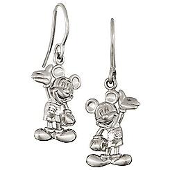Mickey Mouse Figure Earrings