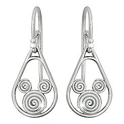 Mickey Mouse Swirling Icon Earrings