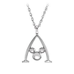 Mickey Mouse Gold Necklace - Aulani, A Disney Resort & Spa