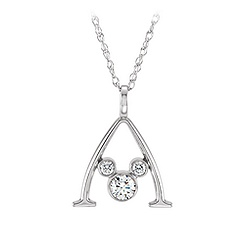 Mickey Mouse Gold and Diamond Necklace - Aulani, A Disney Resort & Spa