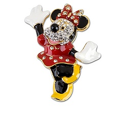 Minnie Mouse Brooch by Arribas