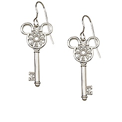 Mickey Mouse Key Earrings by Arribas