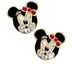 Minnie Mouse Earrings by Arribas