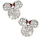 Minnie Mouse Icon Earrings by Arribas - Domed