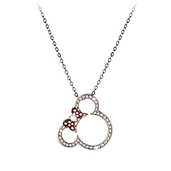 Minnie Mouse Icon Necklace by Arribas
