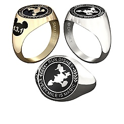 Donald Duck RunDisney Ring for Women by Jostens - Personalizable