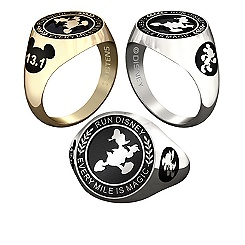 Donald Duck RunDisney Ring for Men by Jostens - Personalizable