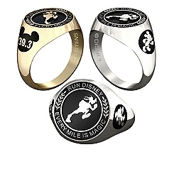 Goofy RunDisney Ring for Men by Jostens - Personalizable