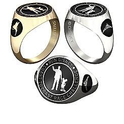 Tinker Bell and Princess RunDisney Ring for Men by Jostens - Personalizable